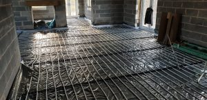 Underfloor heating Hollywell